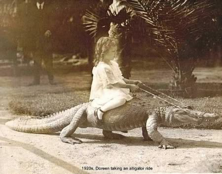 1920s-girl-riding-an-alligator-9452