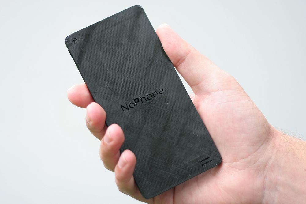 Découvrez le nouveau téléphone tendance, le NoPhone !