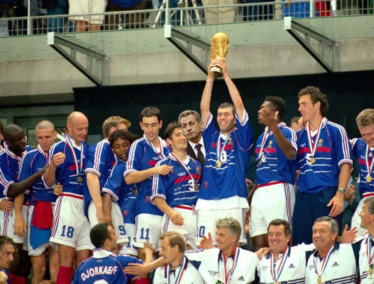 Retro France 1998 - Mondial -Coupe du Monde