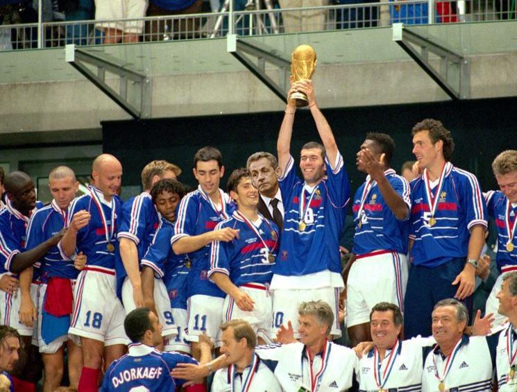 Retro France 1998 – Mondial -Coupe du Monde