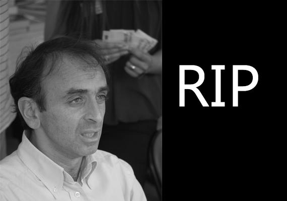Eric zemmour est mort vidéo exclusive
