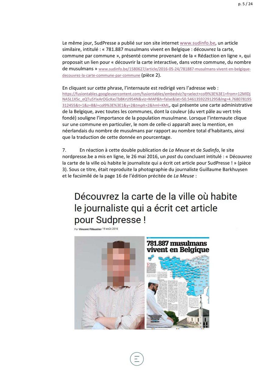 D couvrez en 45 points les arguments de notre avocat - Porter plainte pour diffamation belgique ...