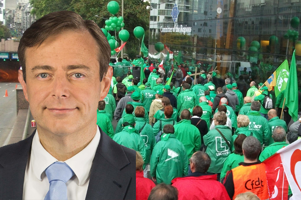 De Wever veut la pension à 80 ans pour les syndicalistes «Ces gens là sont trop en grève, il faut repousser l'âge»