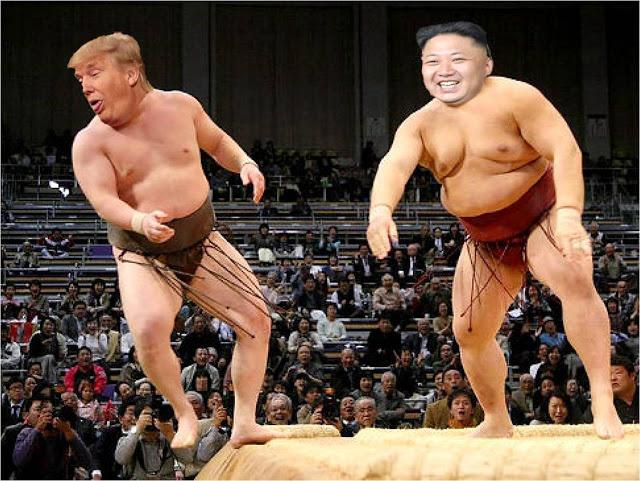Donald Trum et Kim Jong-un