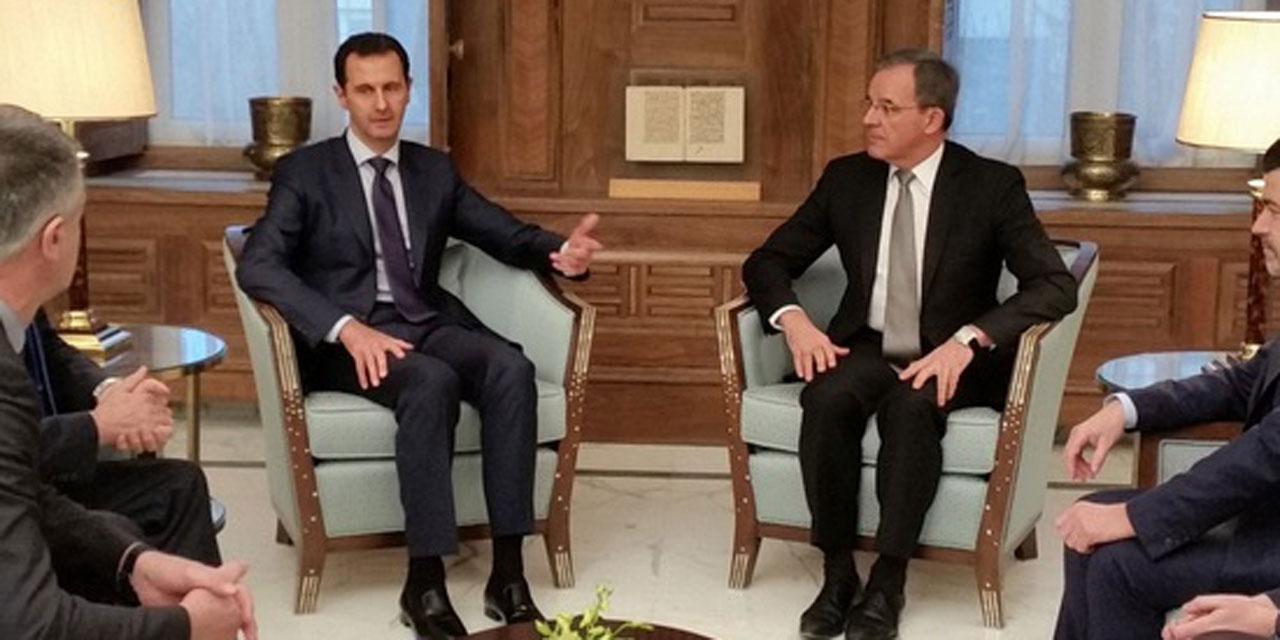 Trois-deputes-francais-Thierry-Mariani-LR-Nicolas-Dhuicq-LR-et-Jean-Lassalle-ont-rencontre-Bachar-al-Assad