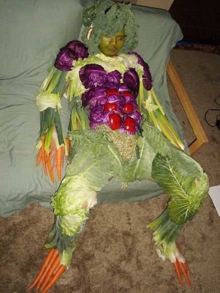 Un vegan à l'âge adulte
