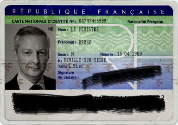 changement nom carte identité Dingue: Bruno Le Maire a fait changer son nom cette semaine (Scan