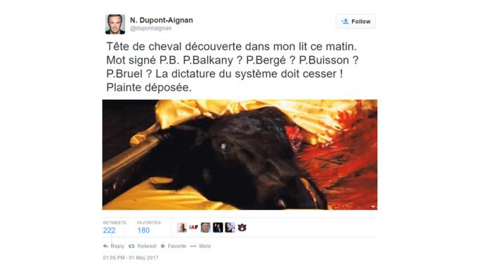 Nicolas dupont aignan porte plainte apr s avoir d couvert - Porter plainte combien de temps apres ...