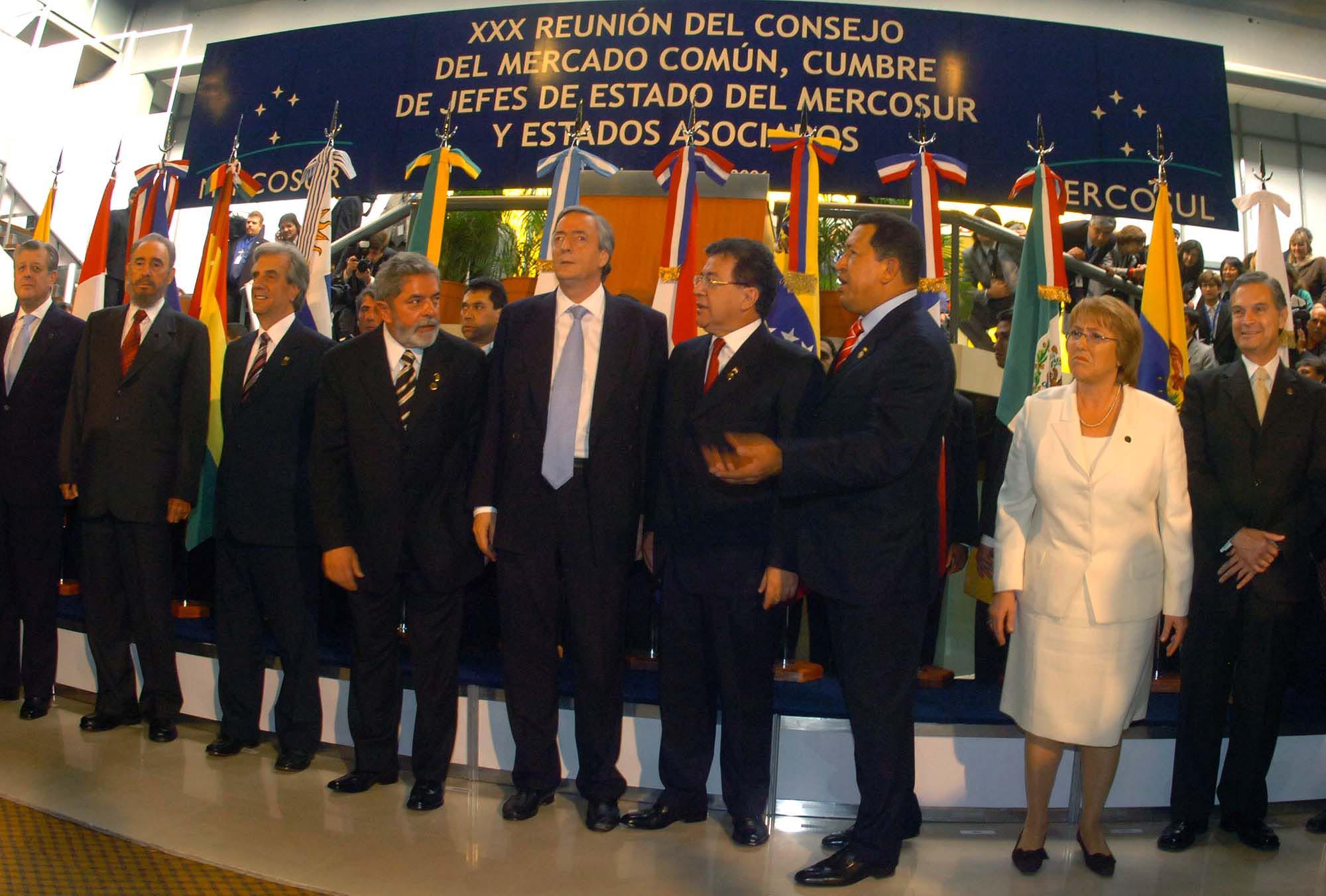 21-07-06 Cordoba – Cumbre del Mercosur