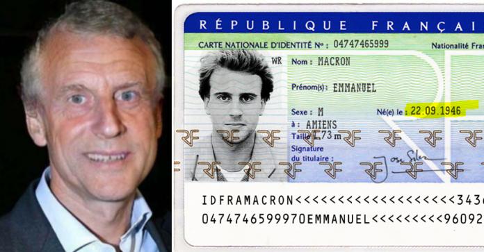 Aujourdhui Une Photo DEmmanuel Macron Prise En 2002 Avant Quil Soit Prsent Sur La Scne Politico Mdiatique Ainsi Quun Scan De Sa Carte D Identit
