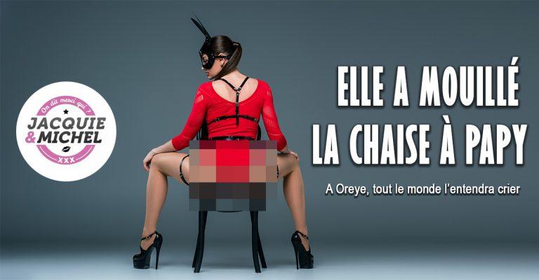 Jacquie et Michel a sorti une vidéo sur l'affaire de la chaise à papy. (Trailer vidéo)