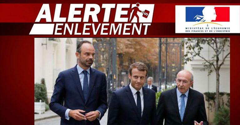 Alerte disparition: Phillippe, Macron et Collomb ont disparu