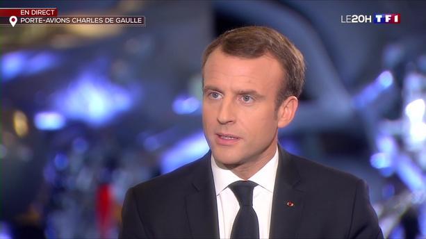 Macron sur TF1: Seulement 250.0000 téléspéctateurs, 2,2% de parts de marché