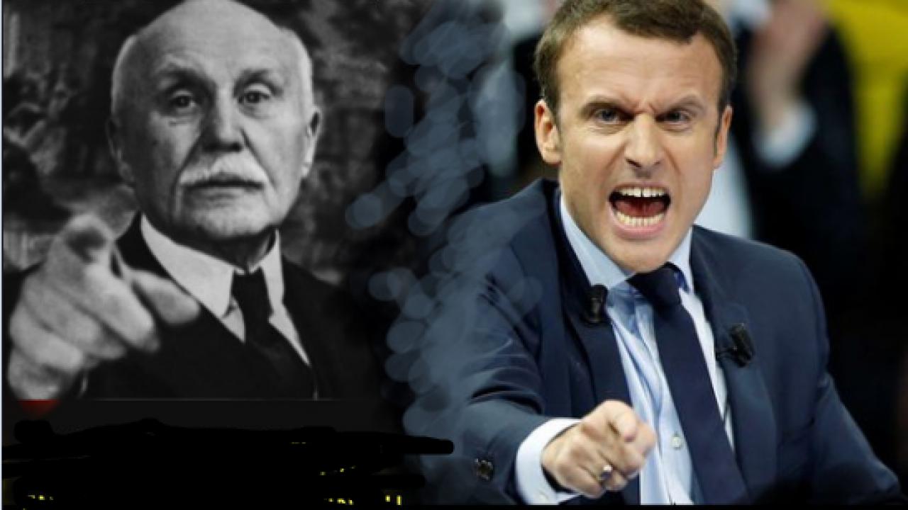 Pétain - Macron: un air de famille !