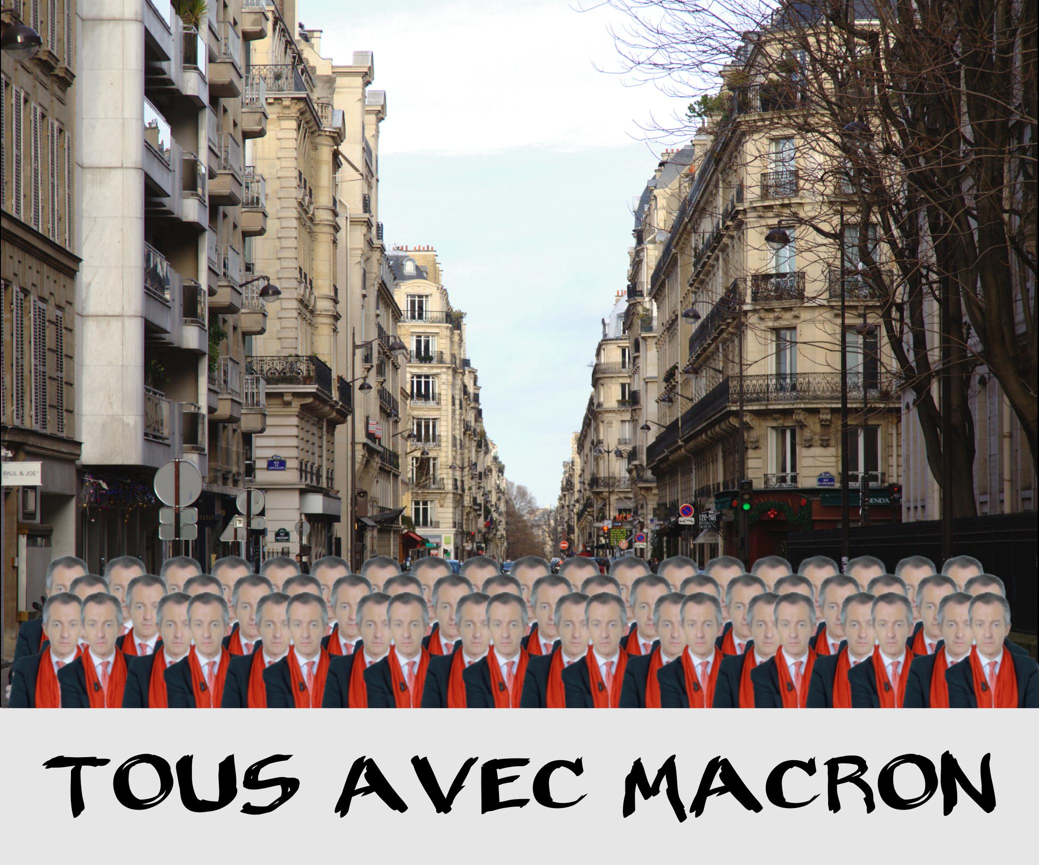 Tous avec Macron