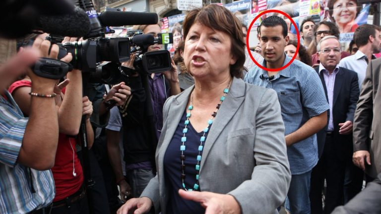 Alexandre Benalla aperçu aux côtés de Martine Aubry à Lille