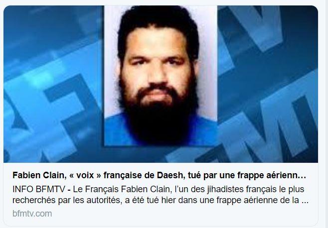 Fabien Clain, «La voix» de Daesh, ne participera finalement pas à l'Eurovision