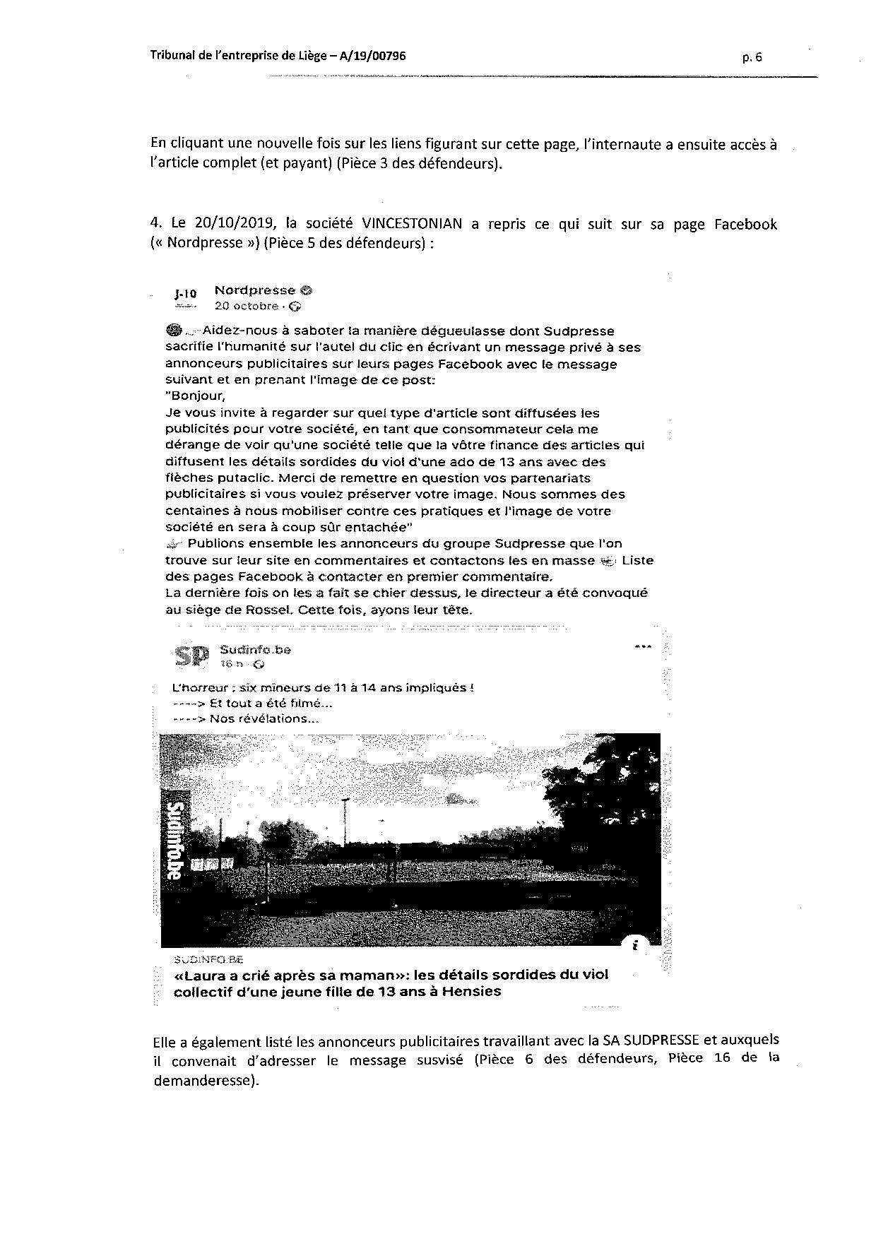 2020 01 10 SUD PRESSE c HERREGAT V et VINCESTONIAN SDE PLC (A-19-00796) aud 6-12-2019-page-006