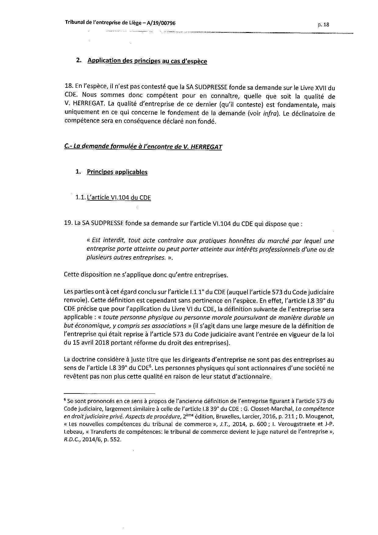 2020 01 10 SUD PRESSE c HERREGAT V et VINCESTONIAN SDE PLC (A-19-00796) aud 6-12-2019-page-018