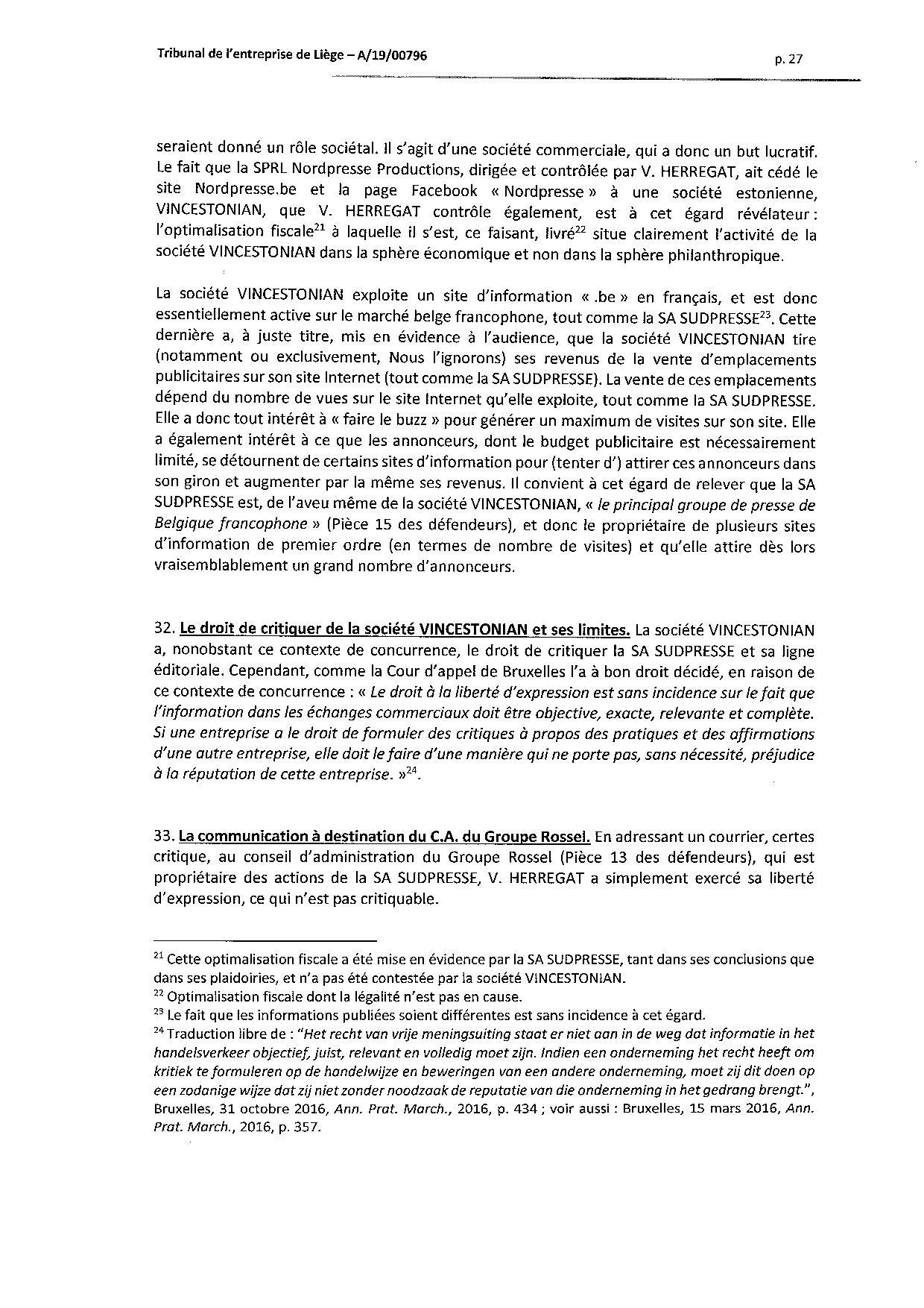 2020 01 10 SUD PRESSE c HERREGAT V et VINCESTONIAN SDE PLC (A-19-00796) aud 6-12-2019-page-027