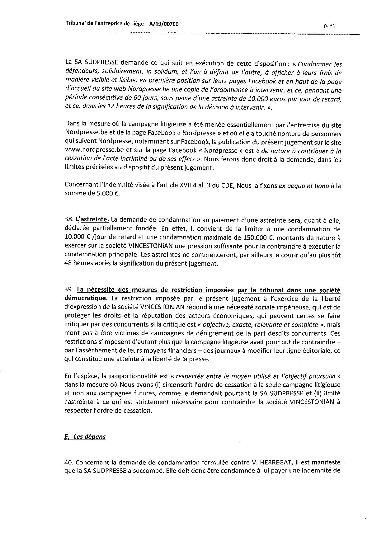 2020 01 10 SUD PRESSE c HERREGAT V et VINCESTONIAN SDE PLC (A-19-00796) aud 6-12-2019-page-031