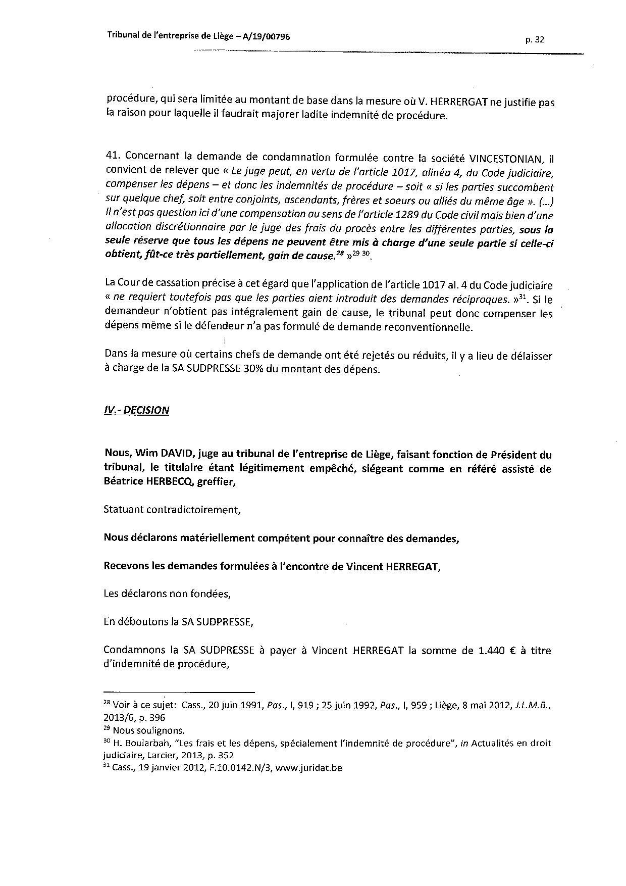 2020 01 10 SUD PRESSE c HERREGAT V et VINCESTONIAN SDE PLC (A-19-00796) aud 6-12-2019-page-032