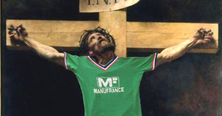Selon un historien, les derniers mots du christ auraient été:  «Putain de poteaux carrés »