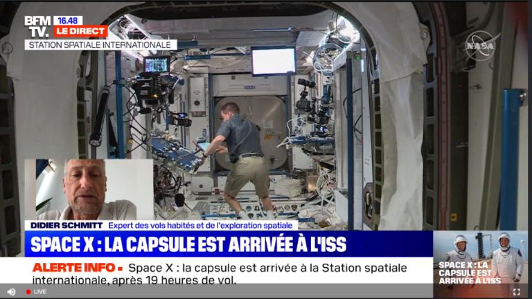 Le Covid-19 est bien arrivé dans la Station Spatiale Internationale