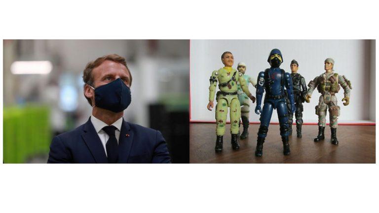Emmanuel Macron est en fait le Cobra Commander