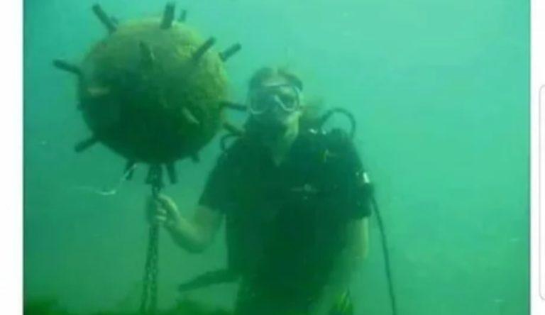 Le Coronavirus vient d'être capturé par un plongeur. La pandémie est terminée