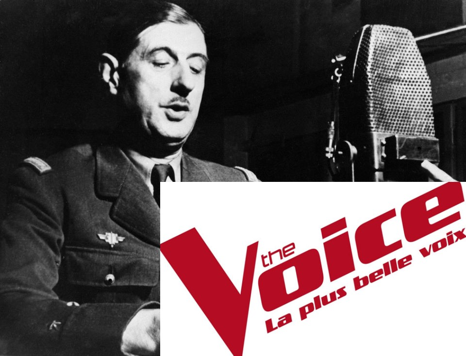the voice first