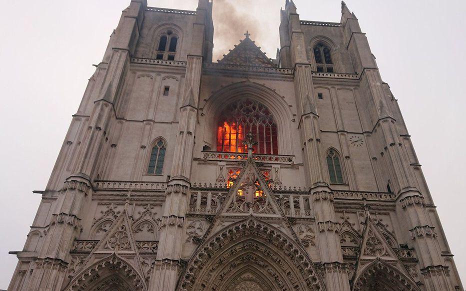 cathédrale nantes incendie