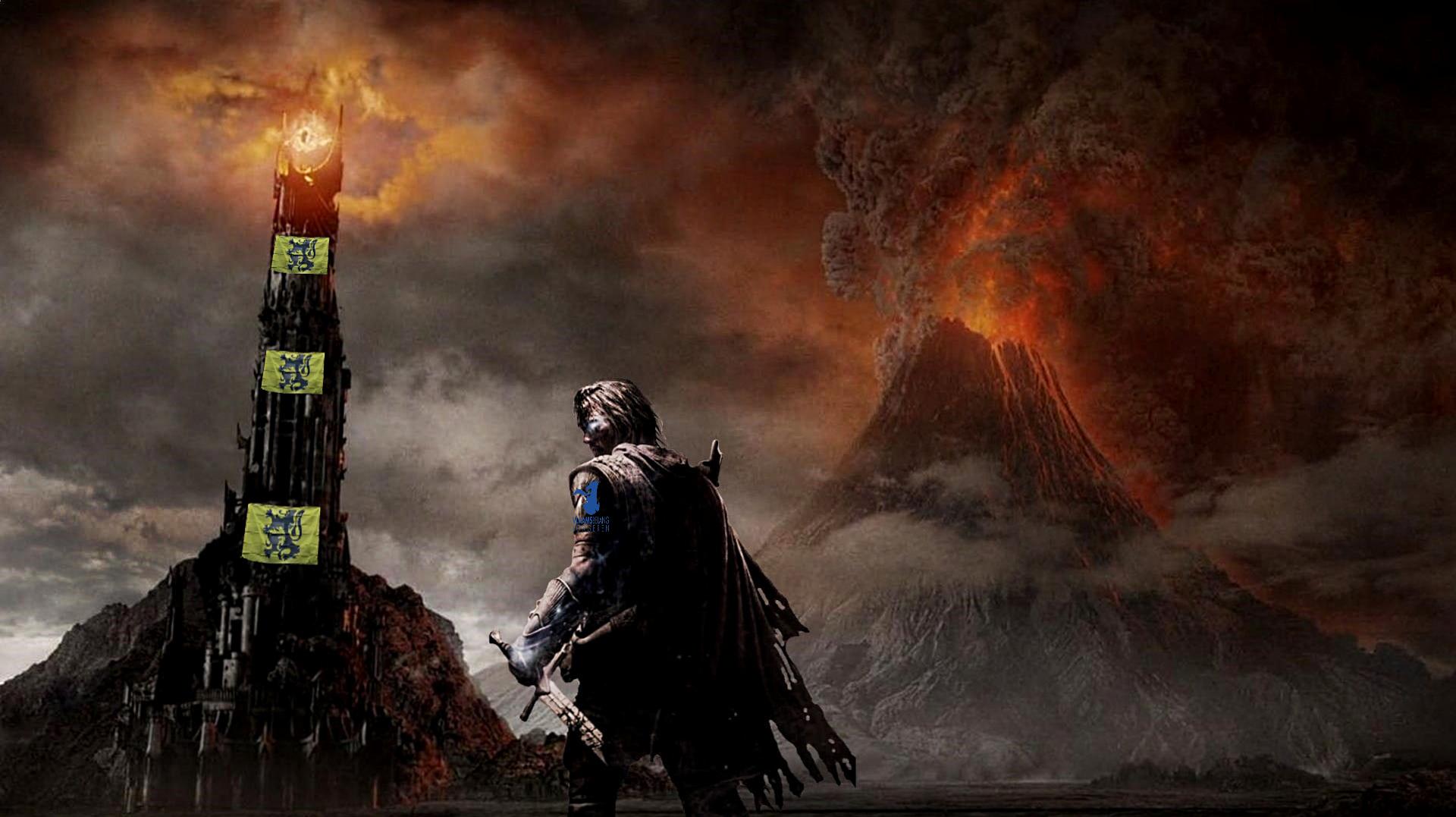 drapeau flamands-sauron-mountains-lava