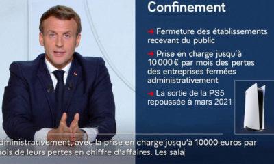 Emmanuel Macron annonce le report de la sortie de la PlayStation 5