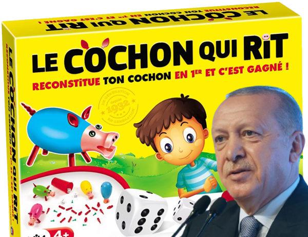 Erdogan appelle au boycott du cochon qui rit