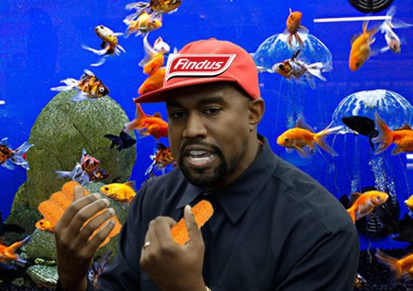 Kanye West élu Président de Findus