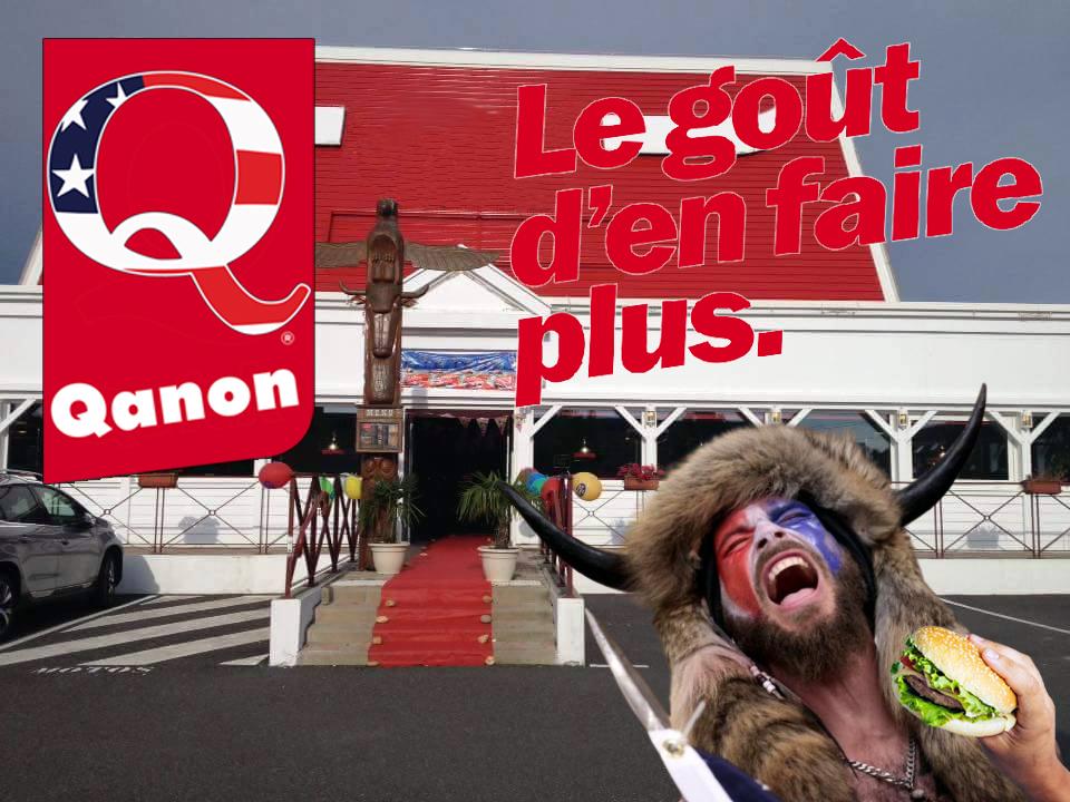 QAnon était une opération marketing d'une chaîne de restauration rapide qui a mal tournée